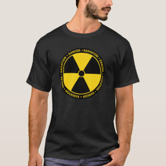 Yellow & Black Radiation Symbol T-Shirt