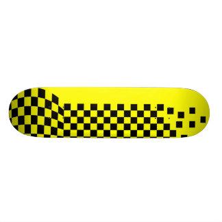 """Yellow & Black"" Skateboard Deck"