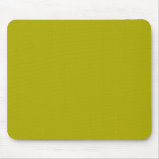 Yellow Blank Plain DIY template add text photo Mouse Pad