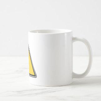 Yellow Blank Sign Coffee Mug