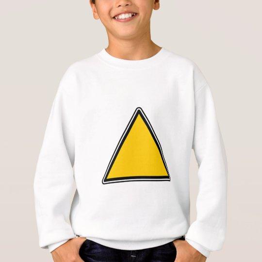 Yellow Blank Sign Sweatshirt