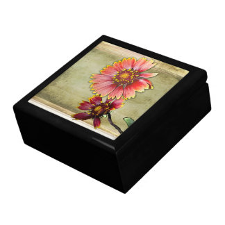 Yellow Blanket Sunflowers - Jewelry Box