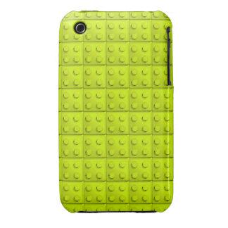Yellow blocks pattern iPhone 3 case