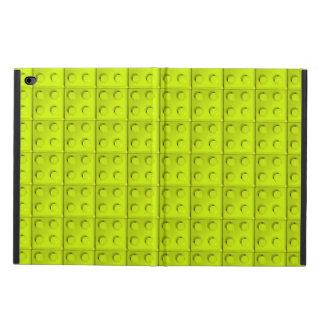 Yellow blocks pattern powis iPad air 2 case