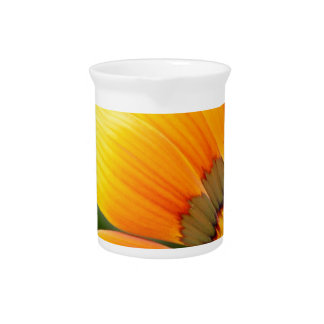 Yellow Bloom Beverage Pitcher
