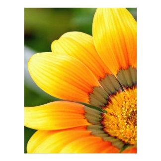 Yellow Bloom Letterhead