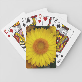 Yellow Bloom Themed Classic Playing Cards