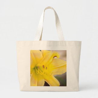Yellow Blooming Canna Flower Tote Bag