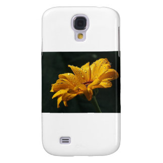 YELLOW BLOOMS GALAXY S4 CASE