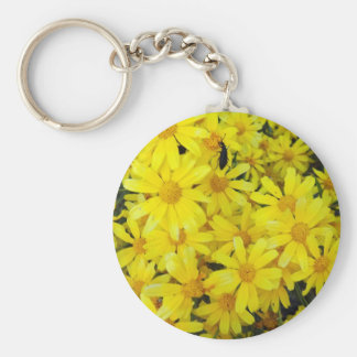 Yellow Blooms Keychains
