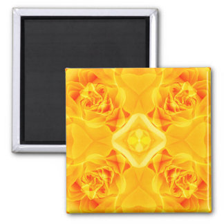 Yellow Blossoms Magnet