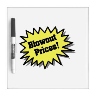 Yellow Blowout Prices Dry Erase Whiteboards