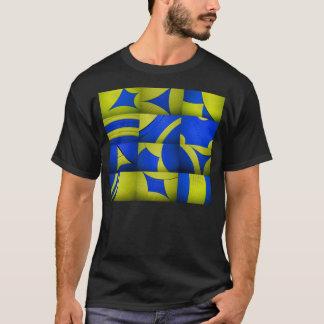Yellow & Blue Kaleidoscope T-Shirt