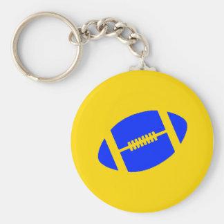 Yellow & Blue Keychain