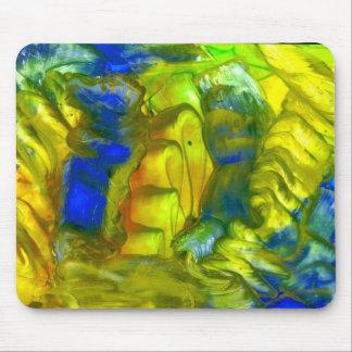 yellow-blue mousepads