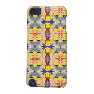 Yellow Blue Red Kaleidoscope design iPod Touch 5G Cover