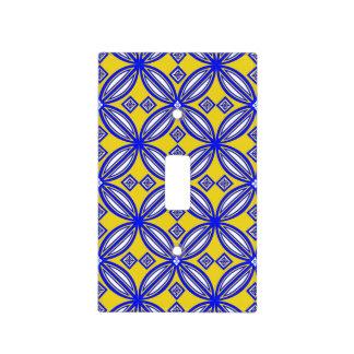 Yellow Blue  Talavera Tile Pattern Light Switch Light Switch Cover