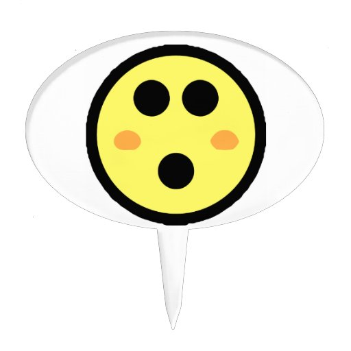 Text message blushing smiley face