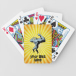 Yellow Bodybuilder Bicycle Card Deck