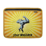 Yellow Bodybuilder Sleeves For MacBook Air