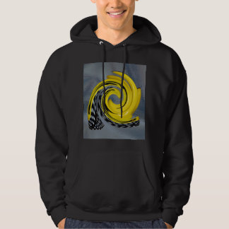 Yellow Boots Black Polka Dot Snail Seashell Dragon Hoodie