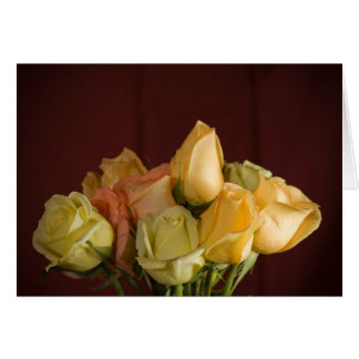 Yellow Bouquet - Note Card