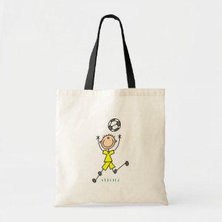 Yellow Boys Soccer Bag