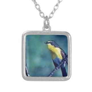 Yellow Breasted Chat Pendant