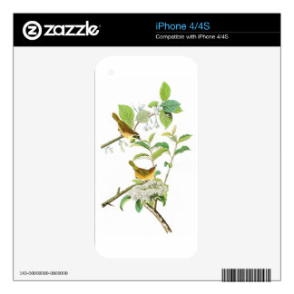 Yellow-breasted Warbler John Audubon Birds America Skins For The iPhone 4S