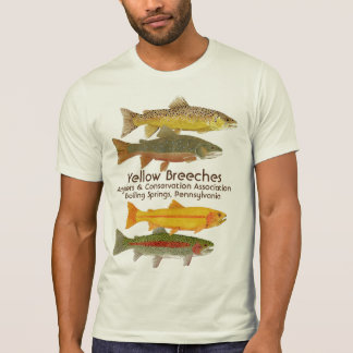 Yellow Breeches Anglers T Shirt