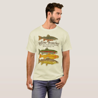 Yellow Breeches Anglers Version 2 T-Shirt