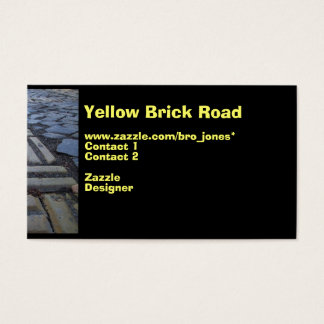 Yellow Brick Road Business Card