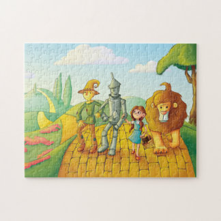 Yellow Brick Road Jigsaw Puzzle