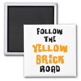 yellow brick road magnet