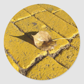 yellow brick road  sticker