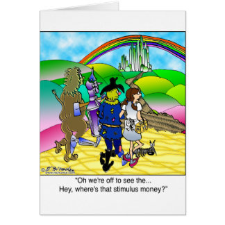 Yellow Brick Road & Stimulus Money Card