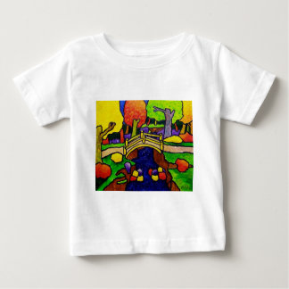Yellow Bridge by Piliero Baby T-Shirt