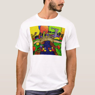 Yellow Bridge by Piliero T-Shirt