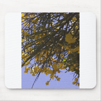 Yellow Broom Mouse Pad