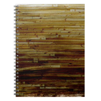 YELLOW BROWN MUD LINES TEXTURES SOLID BACKGROUND T SPIRAL NOTEBOOK