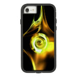 YELLOW BROWN WHITE  FRACTAL ROSE Case-Mate TOUGH EXTREME iPhone 8/7 CASE