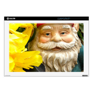 """Yellow Brushes 17"""" Laptop Decals"""