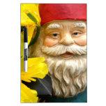 Yellow Brushes Dry-Erase Whiteboard
