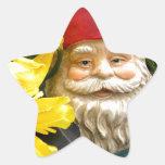 Yellow Brushes Star Sticker