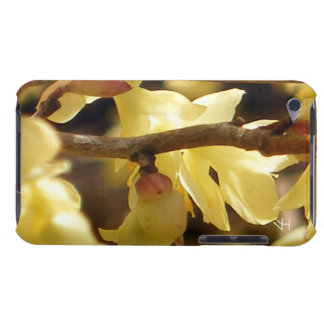 Yellow Bud Barely There iPod Cover