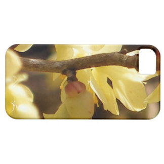 Yellow Bud iPhone SE/5/5s Case