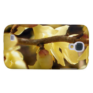Yellow Bud Samsung Galaxy S4 Cover