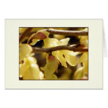 Yellow Bud Stationery Note Card