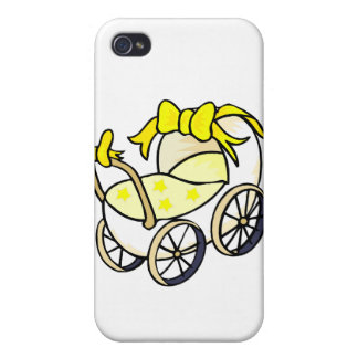 Yellow Buggy iPhone 4/4S Case