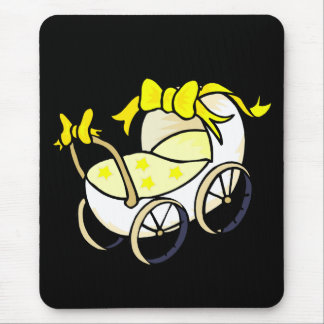 Yellow Buggy Mouse Pad
